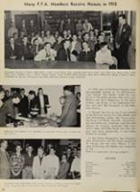 1958 Caruthersville High School Yearbook Page 40 & 41