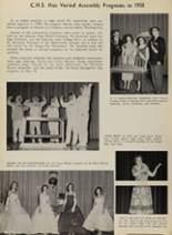 1958 Caruthersville High School Yearbook Page 48 & 49
