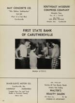 1958 Caruthersville High School Yearbook Page 112 & 113