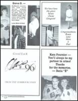 1996 John Glenn High School Yearbook Page 96 & 97