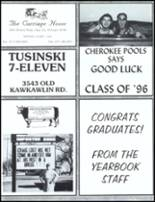 1996 John Glenn High School Yearbook Page 228 & 229