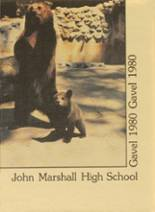 1980 Yearbook John Marshall High School