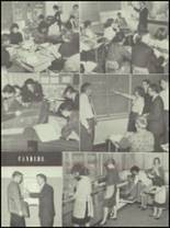 1961 Delaware Township High School Yearbook Page 22 & 23