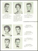 1961 Delaware Township High School Yearbook Page 32 & 33