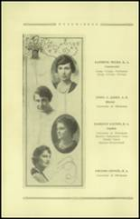 1921 Guthrie High School Yearbook Page 14 & 15