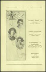 1921 Guthrie High School Yearbook Page 16 & 17