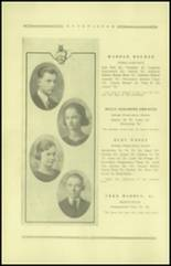 1921 Guthrie High School Yearbook Page 18 & 19