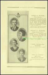 1921 Guthrie High School Yearbook Page 20 & 21