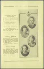 1921 Guthrie High School Yearbook Page 22 & 23