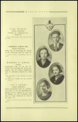 1921 Guthrie High School Yearbook Page 24 & 25