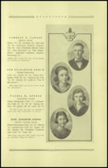 1921 Guthrie High School Yearbook Page 26 & 27