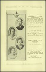 1921 Guthrie High School Yearbook Page 28 & 29