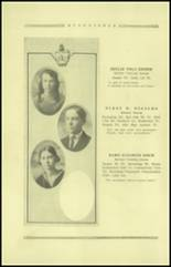 1921 Guthrie High School Yearbook Page 30 & 31