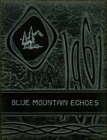 1961 Yearbook Blue Mountain Academy