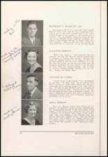 1934 Bloomfield High School Yearbook Page 20 & 21