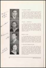 1934 Bloomfield High School Yearbook Page 22 & 23