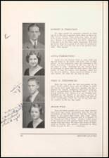 1934 Bloomfield High School Yearbook Page 24 & 25