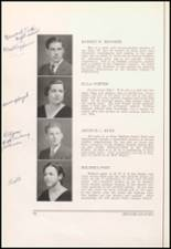 1934 Bloomfield High School Yearbook Page 38 & 39