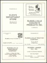 1977 Russellville High School Yearbook Page 136 & 137