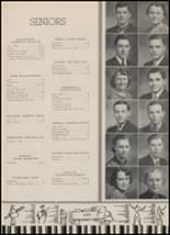 1937 Goshen High School Yearbook Page 20 & 21