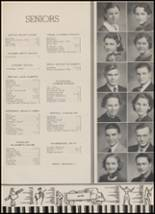 1937 Goshen High School Yearbook Page 24 & 25