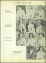 1953 Radford School Yearbook Page 90 & 91