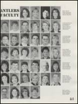 1998 Antlers High School Yearbook Page 60 & 61