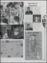 2005 Laingsburg High School Yearbook Page 74 & 75