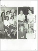 1984 York Central High School Yearbook Page 42 & 43