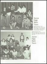 1984 York Central High School Yearbook Page 82 & 83
