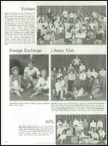 1984 York Central High School Yearbook Page 84 & 85