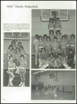 1984 York Central High School Yearbook Page 104 & 105
