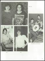 1984 York Central High School Yearbook Page 128 & 129