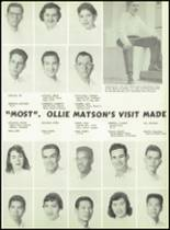 1957 Galileo High School Yearbook Page 22 & 23