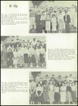 1957 Galileo High School Yearbook Page 44 & 45