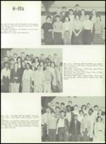 1957 Galileo High School Yearbook Page 46 & 47
