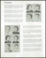 1961 Ligonier Valley High School Yearbook Page 28 & 29