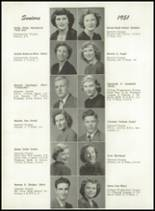1951 Portland High School Yearbook Page 50 & 51