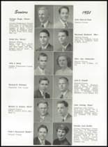 1951 Portland High School Yearbook Page 52 & 53
