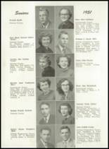 1951 Portland High School Yearbook Page 54 & 55