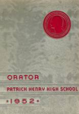 1952 Yearbook Patrick Henry High School