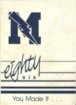 1986 Yearbook Madison High School