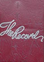 1947 Yearbook Vineland High School