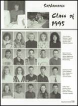 1993 Washington High School Yearbook Page 42 & 43