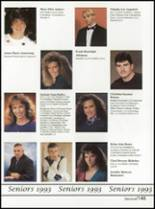 1993 Washington High School Yearbook Page 148 & 149