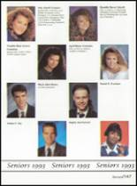 1993 Washington High School Yearbook Page 150 & 151