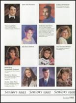 1993 Washington High School Yearbook Page 152 & 153
