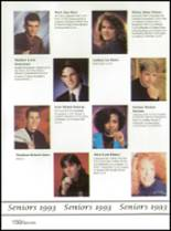 1993 Washington High School Yearbook Page 154 & 155