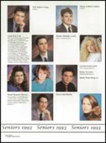 1993 Washington High School Yearbook Page 156 & 157
