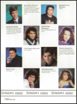1993 Washington High School Yearbook Page 158 & 159